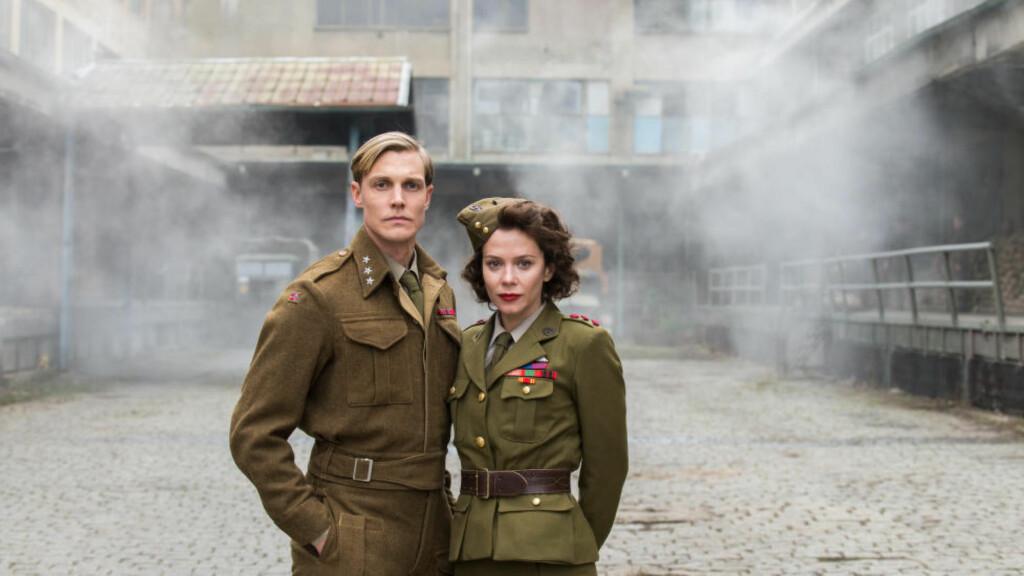OVER MILLIONEN: NRK-serien «Kampen om tungtvannet» ble sett av 1 259 000 tv-seere søndag kveld. Foto: NRK