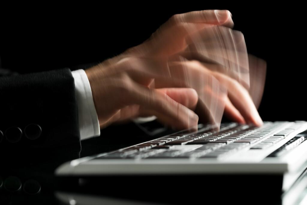 <strong>SMART:</strong> Det finnes programmer som automatisk kan erstatte litt tekst med mer tekst, og som derfor gjør deg mer effektiv bak tastaturet. Foto: Gajus / Shutterstock / NTB Scanpix