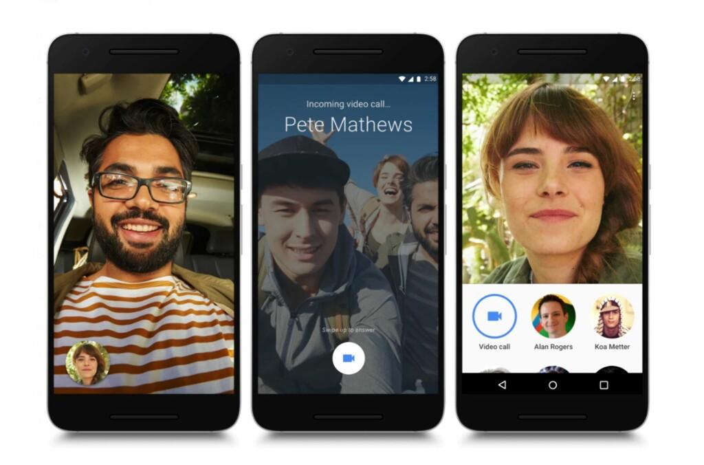 Duo er Googles FaceTime-konkurrent - DinSide