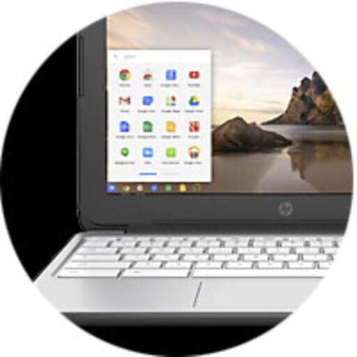 BILLIG: En Chromebook får du fra et par tusenlapper og oppover. Foto: HP