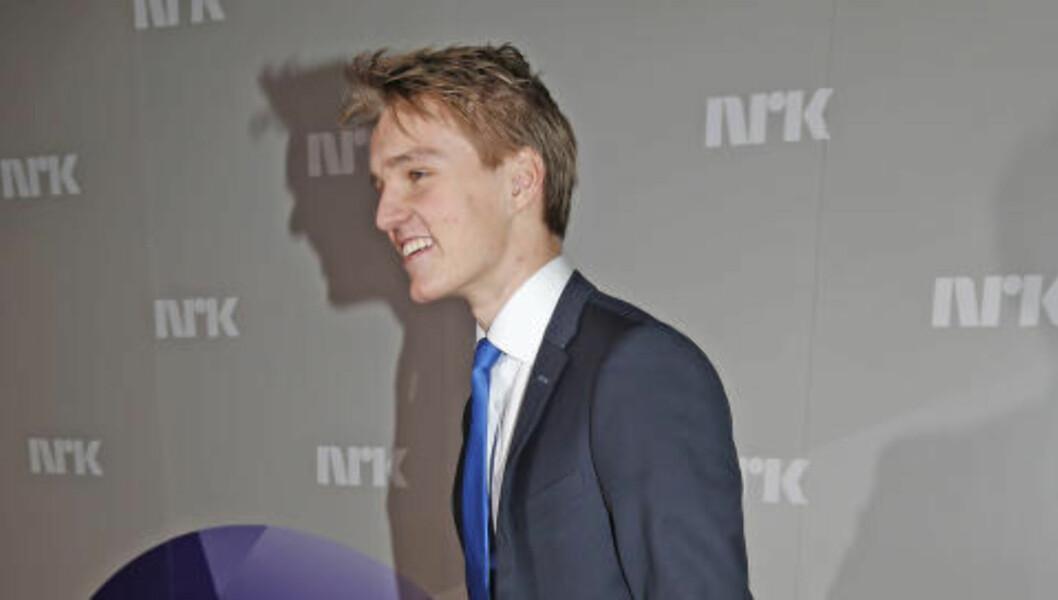 <strong>ÅRETS GJENNOMBRUDD:</strong> Martin Ødegaard. Foto: Terje Bendiksby / NTB scanpix