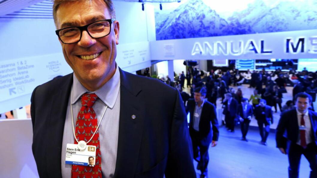 <strong> Kjøper opp:</strong>  Stein Erik Hagens Canica er største eier i Orkla, som nå handler for en halv milliard kroner. Foto: Lise Åserud / NTB scanpix