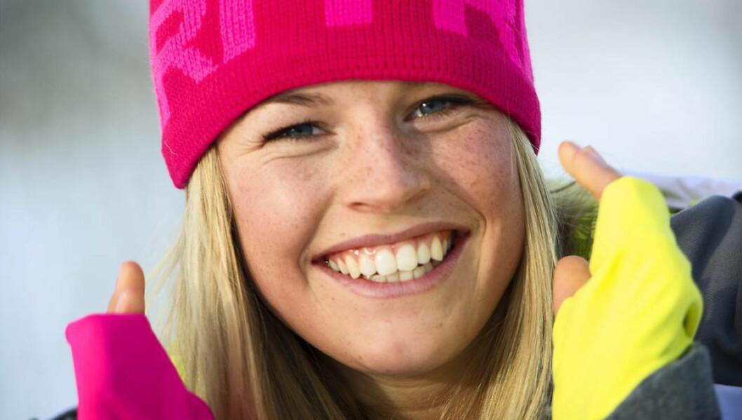 NR.14:  - Plasseringen er grei, men jeg gjør for mange feil, sier 19 år gamle Hedvig Wessel etter VM-løpet i kulekjøring.