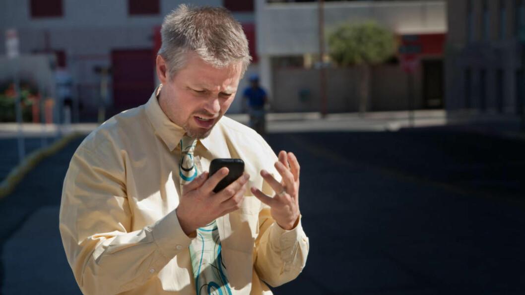 IKKE FORNØYD? Her er fototabbene du bør unngå når du knipser med mobiltelefonen. Foto: ALL OVER PRESS