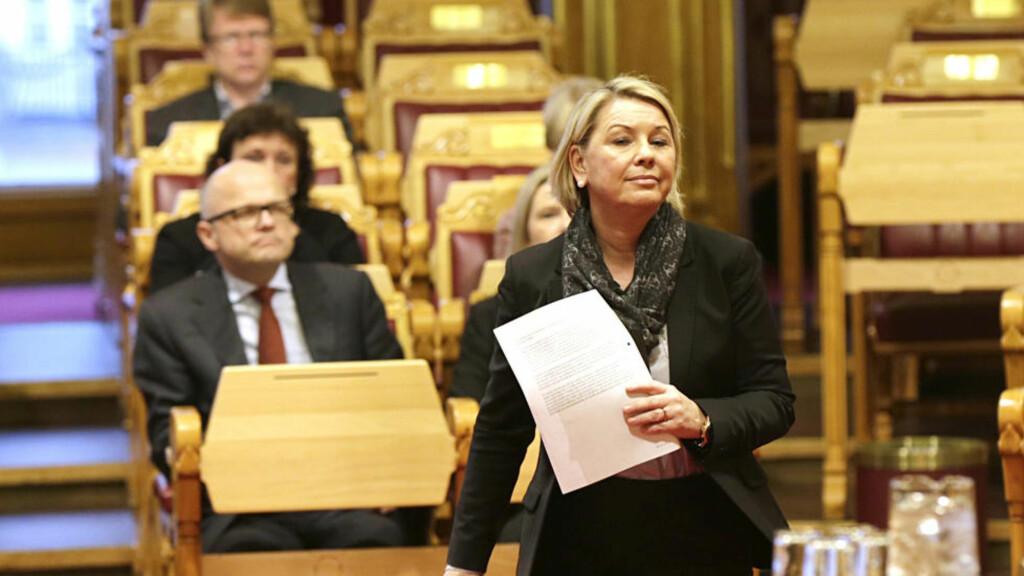 FÅR ÅPENT BREV: Næringsminister Monica Mæland. Foto: Vidar Ruud / NTB scanpix
