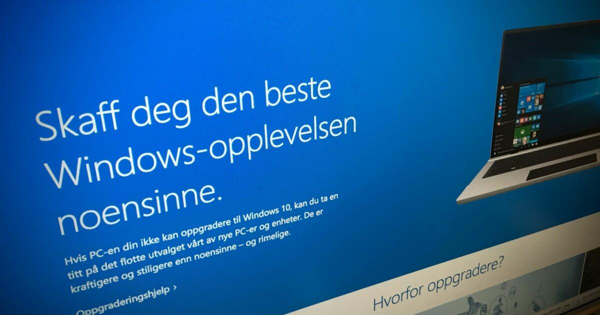 2244e07a Oppdatert Windows? Slik frigjør du lagringsplass - DinSide