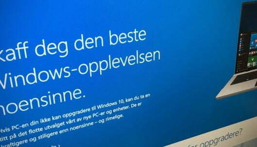 Oppdatert Windows? Slik frigjør du lagringsplass