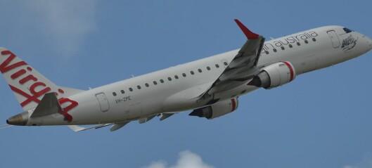 Full australier truet med å få flyet ned på bakken. Det ble dyrt