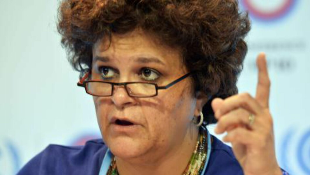 <strong>BEKYMRET:</strong> Brasils miljøminister Izabella Teixeira. Foto:  AFP PHOTO/CRIS BOURONCLE