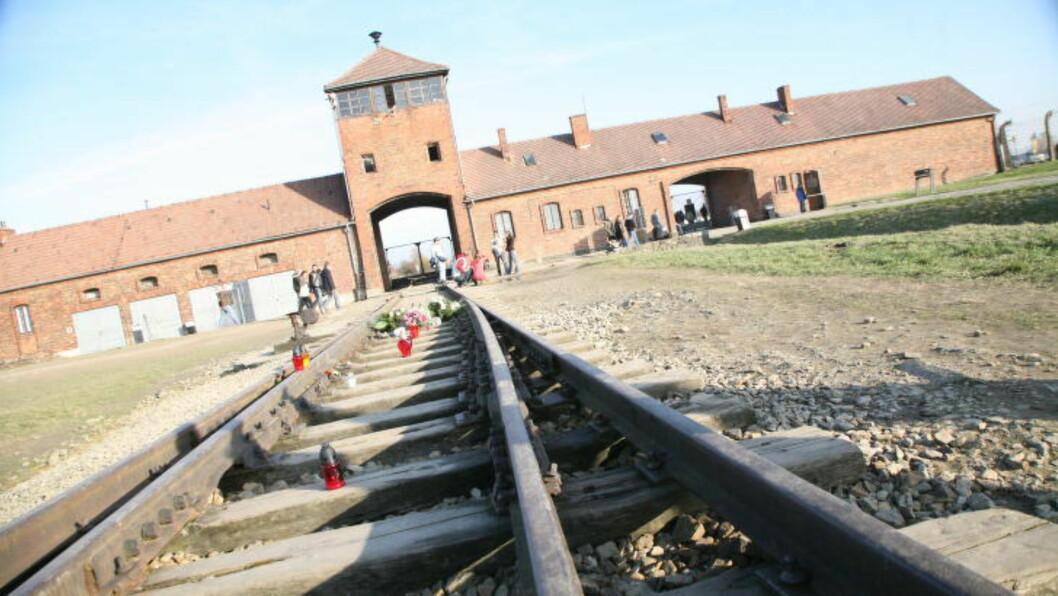 <strong>BYGGET INNE:</strong> Denne delen av Auschwitz-Birkenau er nå bygd inn i en diger hall - for å beskytte de opp mot 300 overlevende som tirsdag kommer for å markere at det er 70 år siden dødsleiren ble inntatt av sovjetiske styrker. (Foto: Asbjørn Svarstad)