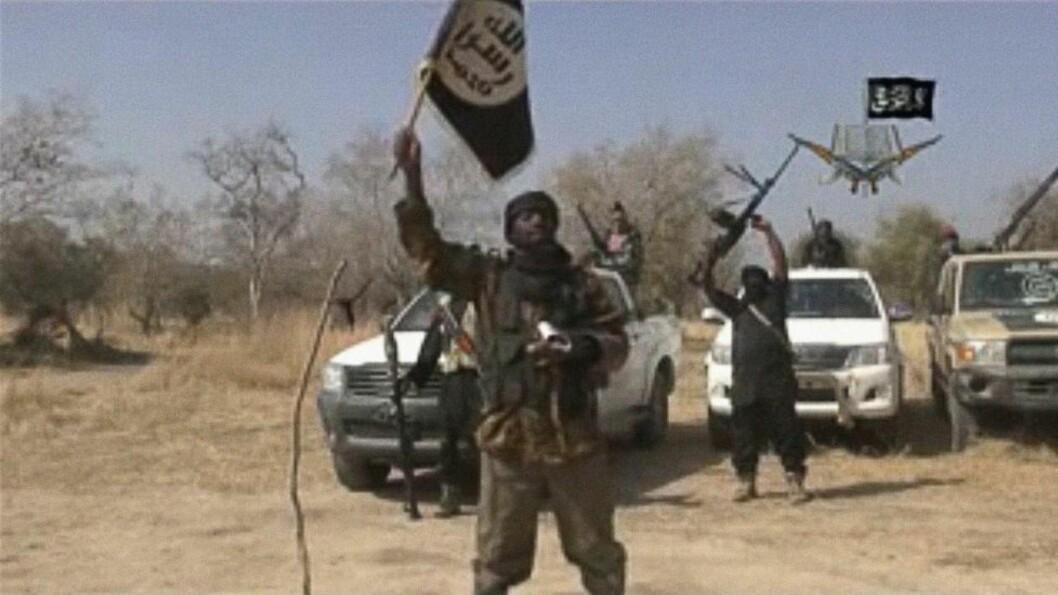 SLÅTT TILBAKE: Den nigerianske hæren greide å slå tilbake en Boko Haram-offensiv mot millionbyen Maiduguri søndag. Men opprørerne inntok en annen strategisk by. AFP PHOTO / BOKO HARAM