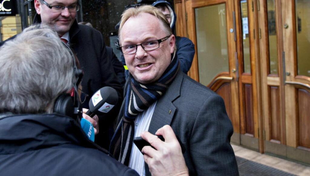 FORSVARER: Per Sandberg oppfordrer til å slutte å skyte på justisminister Anders Anundsen. Foto: Torbjørn Berg / Dagbladet