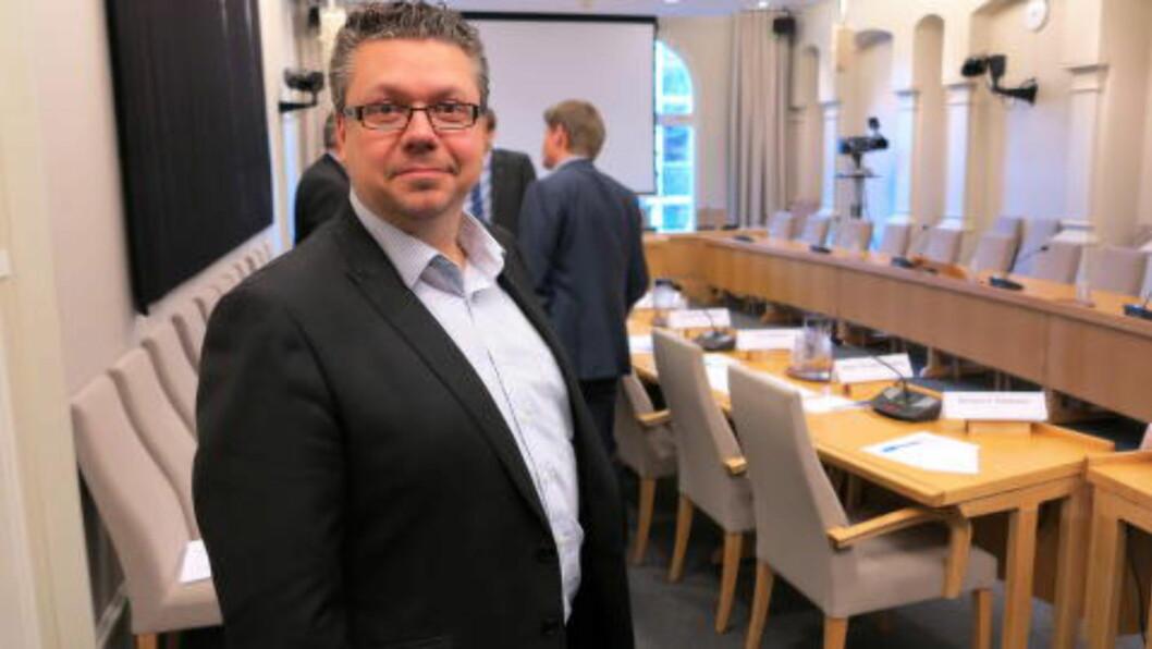 Ulf Leirstein fra Frp kan ikke se noen grunn til at Stortinget ikke skal vedta en lovendring i løpet av februar som sikrer at mordbrann ikke blir foreldet. Foto: Per Asle Rustad