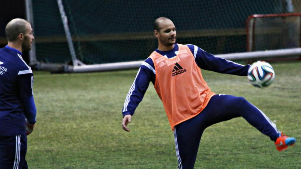 TRAVELT:  Daniel Braaten har det travelt med å finne en klubb i utlandet. Hvis ikke står VIF klare. Foto: Jacques Hvistendahl / Dagbladet