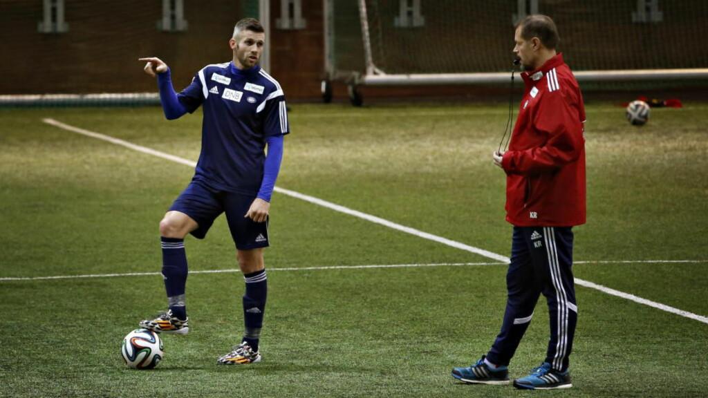 MOTIVERT:  Kjetil Wæhler er igjen klar for å ta fatt på en sesong som Vålerenga-spiller. Trener Kjetil Rekdal mener 38-åringens alder ikke er noen hindring. Foto: Jacques Hvistendahl / Dagbladet
