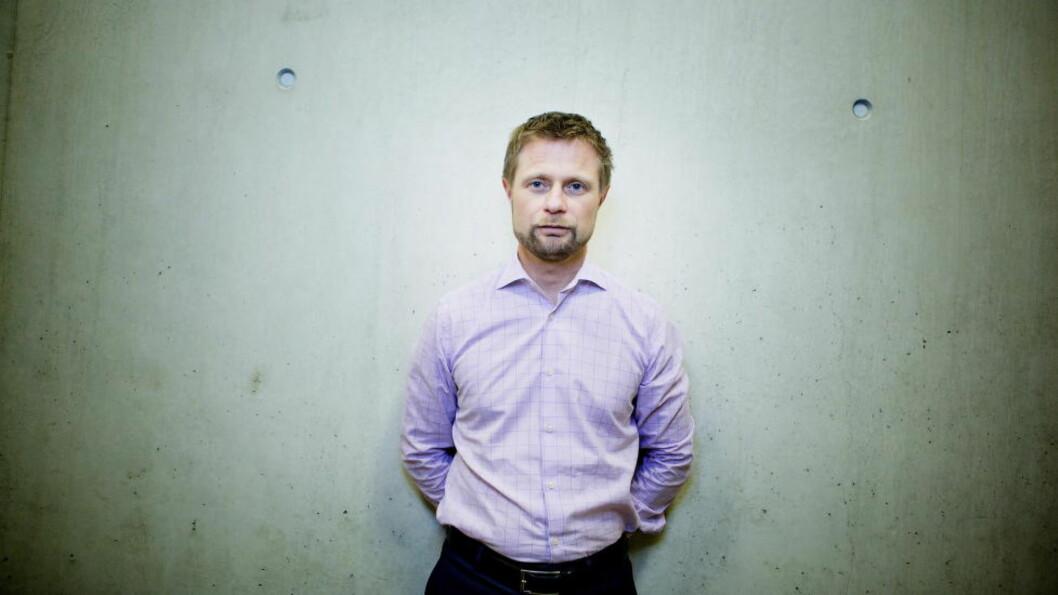 <strong>-KAN BLI DRAMATISK:</strong> Helseminister Bent Høie frykter antibiotikaresistensen. Foto: Christian Roth Christensen