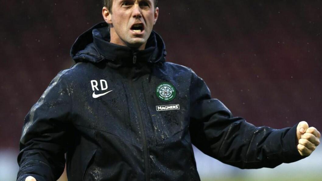 <strong>OLD FIRM:</strong> Følelsene er allerede i kok før søndagens Rangers-Celtic-duell i Glasgow. Der får Ronny Deila kjenne på noe helt spesielt. Foto: REUTERS/Russell Cheyne