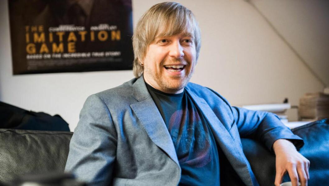 <strong>SNART OSCAR:</strong> Den 22. februar avgjøres det om Morten Tyldum vinner noen av de åtte Oscar-statuettene han er nominert til. Foto: Endre Vellene