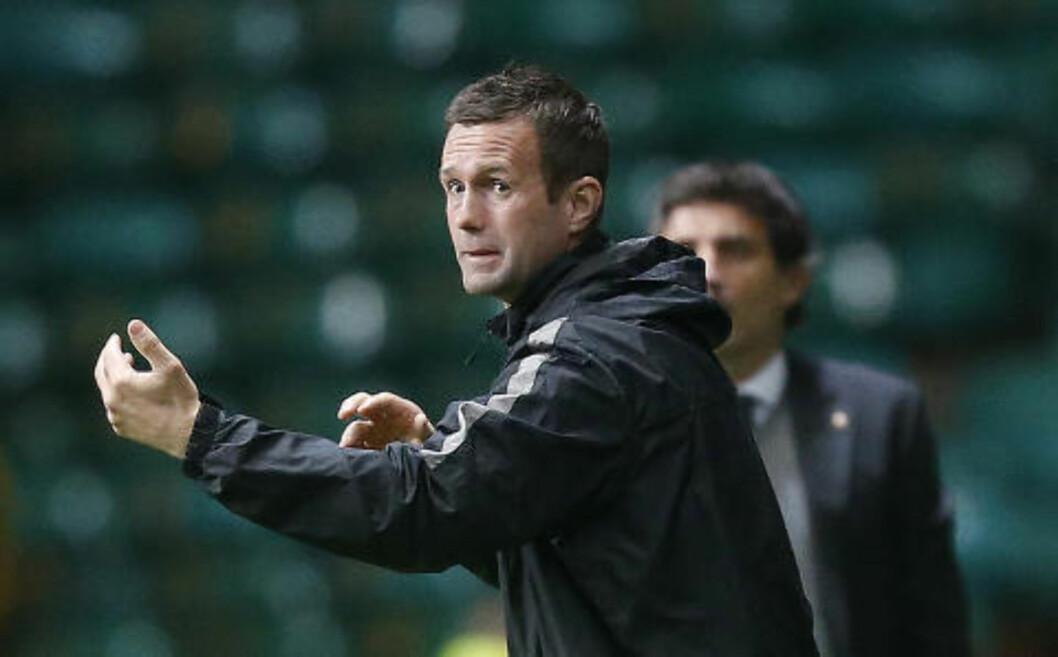 <strong>I FORM:</strong> Celtic og manager Ronny Deila. Foto: AP Photo/PA, Danny Lawson