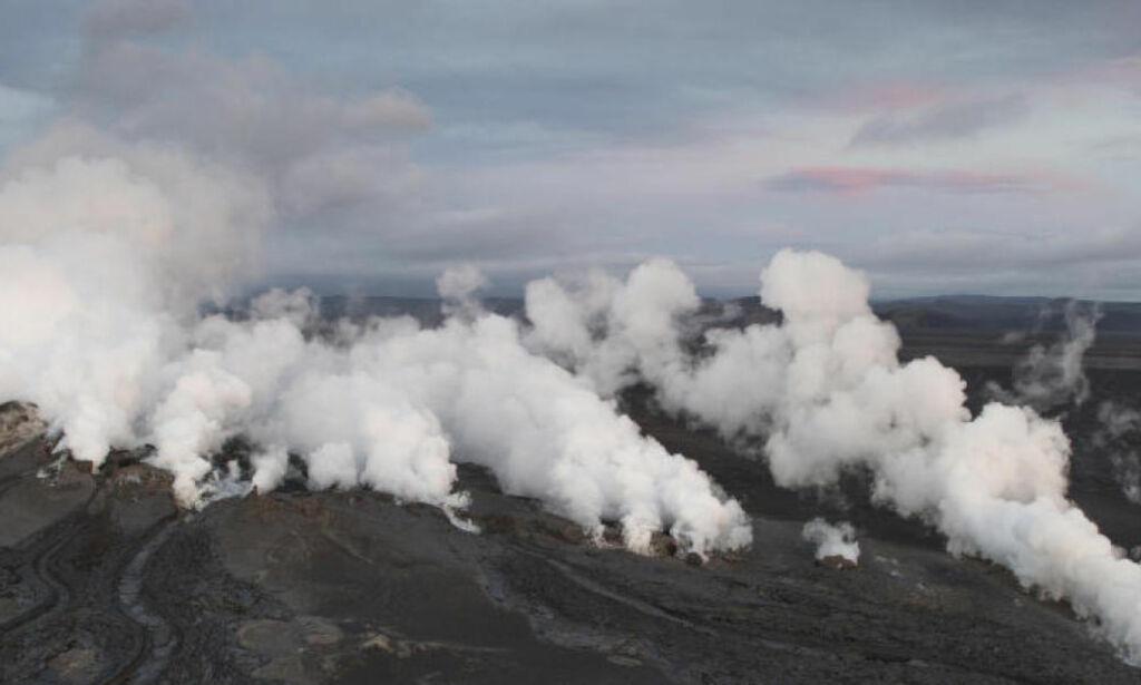 image: Vulkan overvåkes 24/7: - Det er vel bare snakk om tid før det er noe som går i lufta