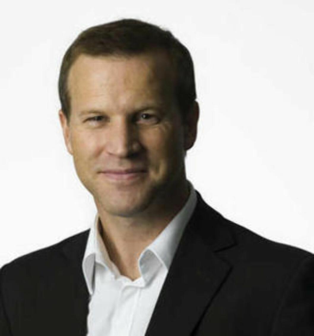- GODT MERKET: Anders Krokan, informasjonssjef i Telenor Norge, synes det er godt merket at det er en betalingstjeneste fra Telenor. Foto: TELENOR