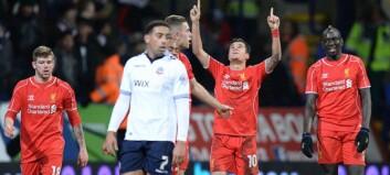 Brasiliansk perlemål fullførte snuoperasjonen til Liverpool