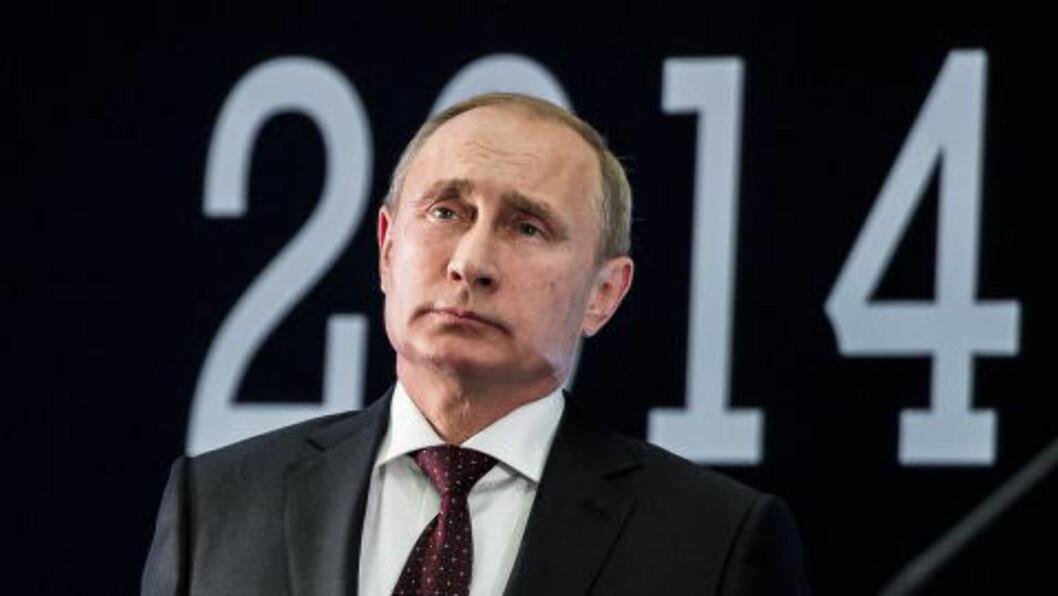 <strong>PUTIN:</strong> Grandhagen anser ikke Russland som en umiddelbar militær trussel mot Norge, men er klar på at Russlands utvikling er skremmende. Foto: Lars Eivind Bones / Dagbladet