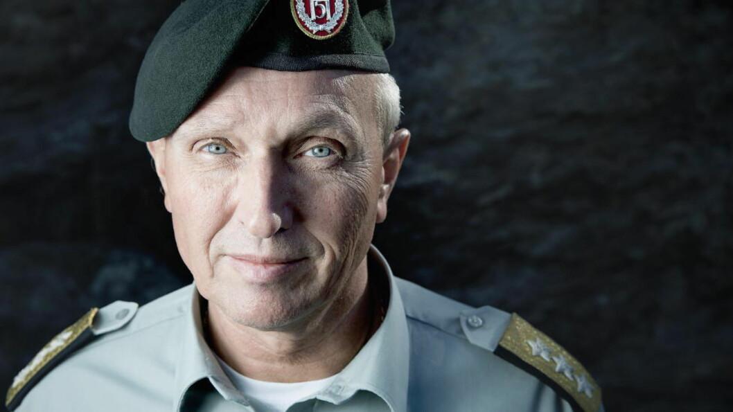 <strong>- RYKKER OPP:</strong> - Vi mener at noen av nordmennene i ISIL har gått inn i mellomlederfunksjoner, sier generalløytnant Kjell Grandhagen, sjef for E-tjenesten, til Dagbladet. Foto: Bjørn Langsem / DAGBLADET