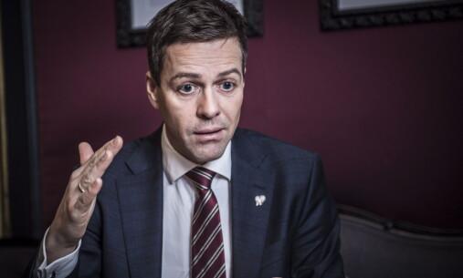 <strong>KRITISK:</strong> Knut Arild Hareide, leder i KrF, synes ikke proffbokseforbudet burde blitt opphevet. &nbsp;Foto: Lars Eivind Bones / Dagbladet