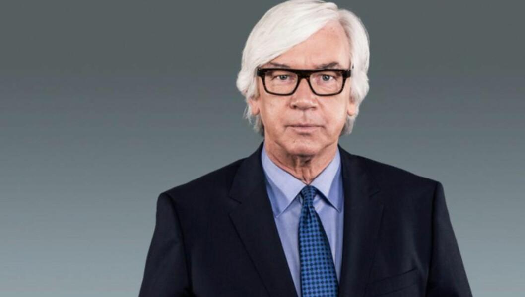 <strong>KAN FORSVINNE:</strong> «Aktuelt» med den populære programlederen Ole Torp kan forsvinne fra NRKs programtilbud som følge av massive innskjæringer i statskanalens nyhetsbudsjett. Foto: NRK.