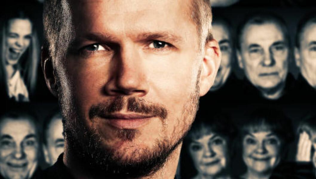<strong>TROR OG HÅPER:</strong> NRKs Vegard Larsen håper på en manus-Oscar, men er veldig usikker. Foto: NRK