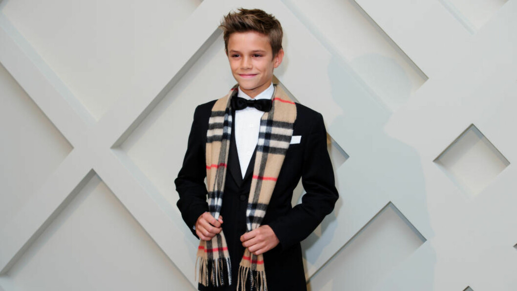 <strong>DEBUTERTE:</strong> Romeo Beckham debuterte i går for Arsenal. Foto: Jonathan Short/Invision/AP