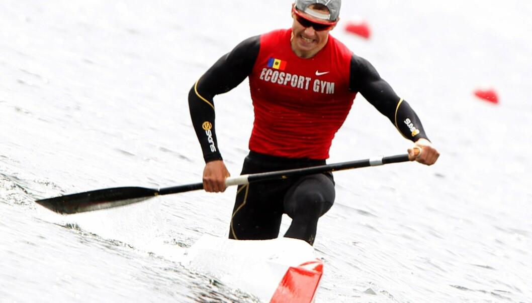 <strong>DOPINGTATT:</strong> Serghei Tarnovschi tok OL-bronse tidligere i mesterskapet. Han er nå tatt i doping. Foto: Roland Weihrauch / EPA / NTB Scanpix