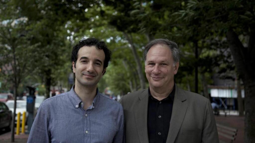RADIOLAB: Jab Abumrad og Robert Krulwich driver verdens mest populære podcast om vitenskapelige og filosofiske spørsmål. Foto: MarcoAntonio.com