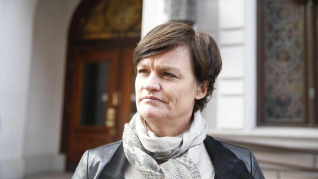 BLIR IKKE KREKAR-ADVOKAT: Mette Yvonne Larsen sier til Dagbladet i dag at det ikke er hun som blir den særskilte advokaten i Krekar-saken. Grunnen til det er en rollekonflikt med Stabell sitt tidligere oppdrag, opplyser hun. Foto Bjørn Langsem