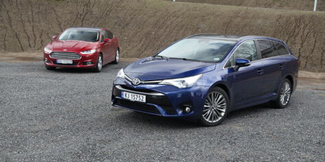 Test: Ford Mondeo vs. Toyota Avensis