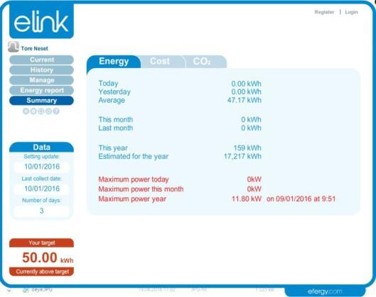 <strong><b>PC-PROGRAM:</strong></B> Her kan du riktig gasse deg i strøm-data. Foto: TORE NESET
