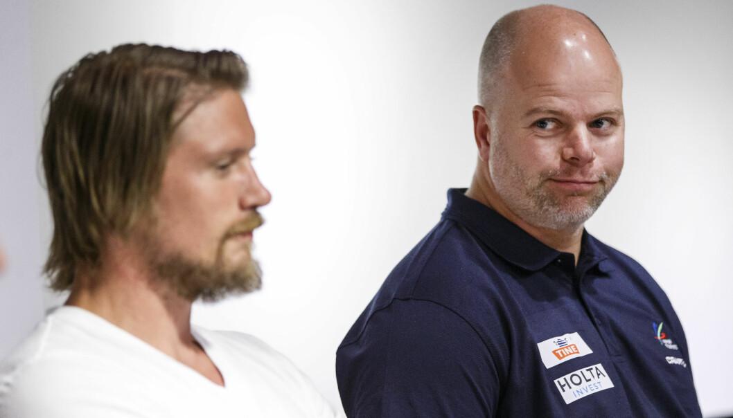 STØTTER THORKILDSEN: Mannen som trente Andreas Thorkildsen til to OL-gull, Åsmund Martinsen, er oppgitt over toppidrettssjef Tore Øvrebø. Foto:Scanpix