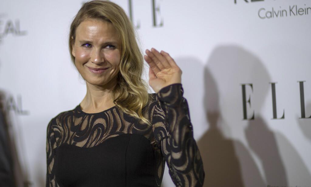 ANNERLEDES: Etter at Renée Zellweger dukket opp på ELLE Women Hollywood Awards mente mange at hun var ugjenkjennelig. FOTO: REUTERS/Mario Anzuoni/File Photo