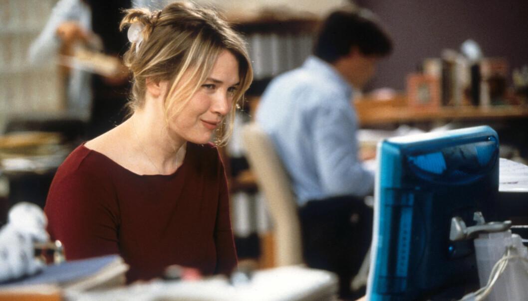 DEN GANG DA: Slik så Bridget Jones ut i den aller første filmen, som kom ut i 2001. Foto: NTB Scanpix