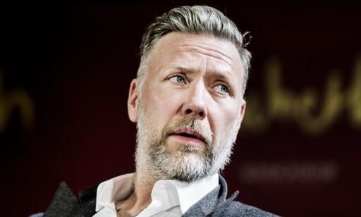 KUNSTNER: Mikael Persbrandt er kjent som skuespiller, men satser også som kunstner. Foto: NTB Scanpix