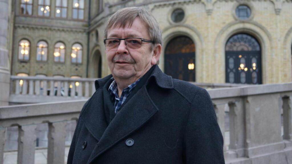 OMKAMP:  58-årige Sverre Hugo Rokstad varsler omkamp om barneloven, og er ved godt mot med tanke på å igjen få endret regelverket. Bildet ble tatt etter dagens møte med barne- og familieminister Solveig Horne. ALLE FOTO: Eirik Hind Sveen / Dagbladet