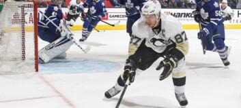 Hockeystjerna Crosby herjer i serien