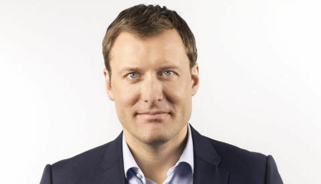 AVVISER SKUTLES FORKLARING: Kommunikasjonsdirektør i Netcom, Severin Roald. Foto: Netcom