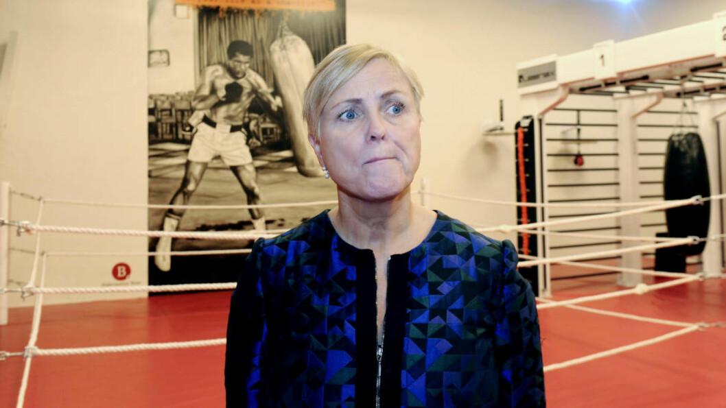 <strong>TAPER:</strong> Kulturminister Thorhild Widvey (H) må innse at mange av hennes kuttforslag i kulturbevilgninger blir reversert av KrF og Venstre.  Foto: Terje Pedersen / NTB scanpix
