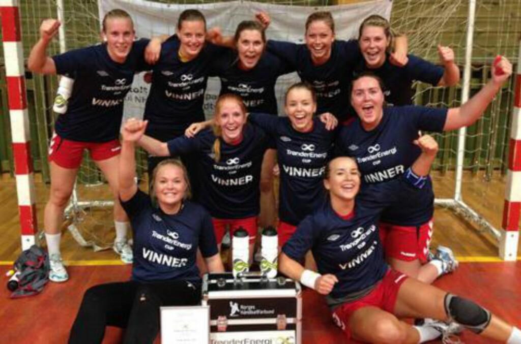 100 000: Som sammenlagtvinner får Charlottenlund 100 000 kroner fra Nordea. Foto: Privat