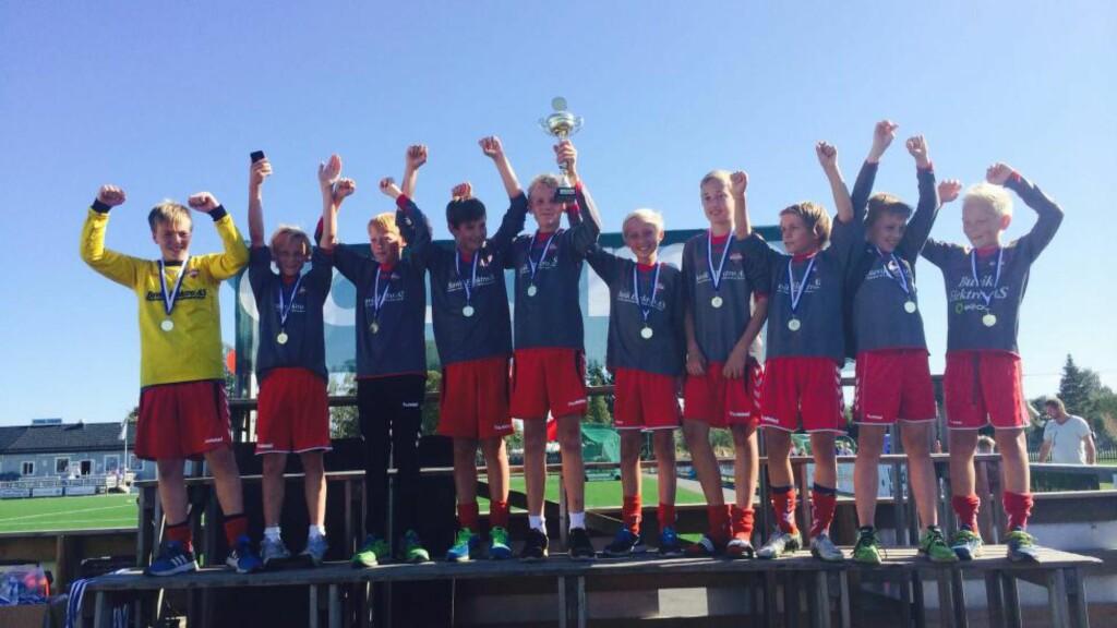 ÅRETS VINNER: Charlottenlund Sportsklubb er årets vinnere av Klubben i mitt hjerte, og får 100 000 kroner fra Nordea. Foto: Privat