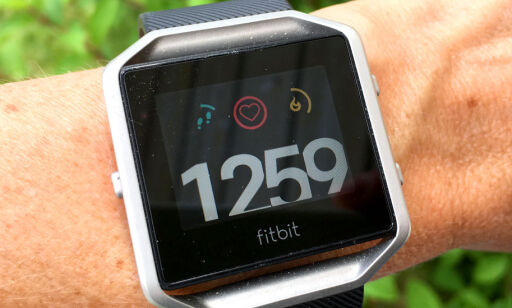 image: TEST: Fitbit Blaze