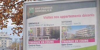 image: Grenoble skal rense gatene for reklame