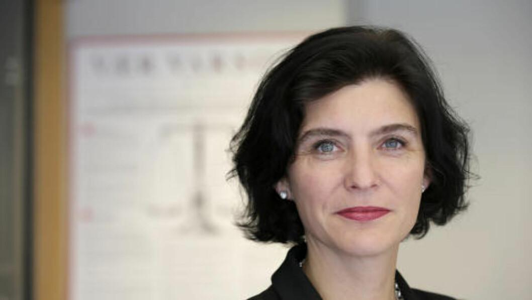 <strong>VIL KLAGE:</strong> Generalsekretær i PFU, Kjersti Løken Stavrum, vil at MinMotes nye praksis skal bli prøvd i PFU. Foto: Vidar Ruud / NTB scanpix